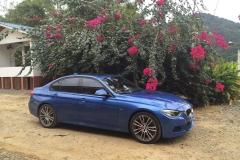 BMW 335 I SPORT M - AZUL - 2014 (2)