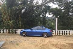 BMW 335 I SPORT M - AZUL - 2014 (3)