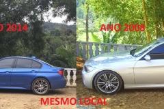 BMW 335 I SPORT M - AZUL E PRATA