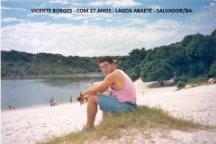 29)-VICENTE BORGES - EM SALVADOR - 1991 - COM 29 ANOS (2)