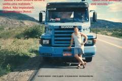 33)-SCANIA - MILAGRES-1995-O SONHO REALIZADO - 33 ANOS