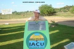 46)-VICENTE BORGES - IAÇU - 12-2008 - COM 46 ANOS