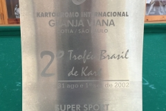 SUPER SPORT SÊNIOR - 3º LUGAR - 2002